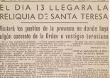 Retall del diari Las Provincias de el 10 de gener de 1963. ES.462508.ADPV / Diputació. A.0.1.2.1. caixa 39 expedient 155