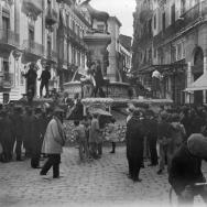 Falla en la plaza Mariano Benlliure. 1932. ES.462508.ADPV/Colección Ferran Belda, Caj. 00149 - Núm. 06287
