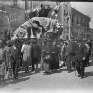 Falla en la plaza de Tetuán de Valencia. ca 1932. ES.462508.ADPV/Colección Ferran Belda, Caj. 00149 - Núm. 06289