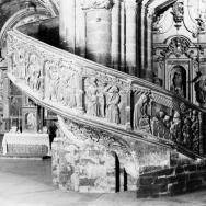ENRIQUE CARDONA. Escalera de subida al coro. Iglesia Arciprestal de Santa María de Morella. 1927. ES.462508.ADPV/Colección Cardona, imagen nº 00537