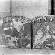 ENRIQUE CARDONA. Escena bíblica. Fragmentos de una predela. Anónimo del s. XV. Albal.  1925. ES.462508.ADPV/Colección Cardona, imagen nº 00731