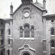 VICENTE BARBERÁ MASIP. Façana de l'Església de la Casa de Misericòrdia. 1907. ES.462508.ADPV / Casa de Misericòrdia / A.1.10. vol. 2
