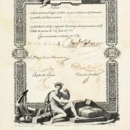 Acció de 2.000 reals del Banc Nacional de Sant Carlos en favor de la vila de Catral. 1973. ES.462508.ADPV/Govern Civil/c.1, caixa 11, expedient 139