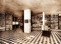 VICENTE BARBERÁ MASIP. Vista de l'interior de l'Arxiu de l'Hospital General. 1927. ES.462508.ADPV/Biblioteca. Fullets/W0001 nº 1