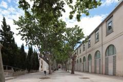 Fachada principal del edificio del Archivo General y Fotográfico de la Diputación de Valencia