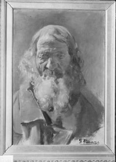 Estudio por Ignacio Pinazo Camarlench. Fotografía: Colección Enrique Cardona, ca.1930. Signatura 0793.