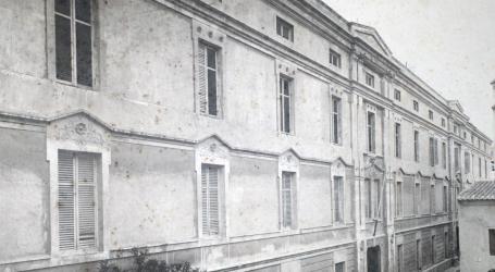VICENTE BARBERÁ MASIP. Façana principal de la Casa de Misericòrdia. 1907. ES.462508.ADPV / Casa de Misericòrdia / A.1.10. vol. 2